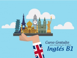 Curso de Inglés nivel B1. Plazas disponibles.